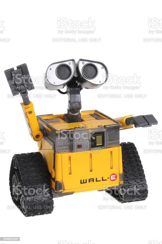 Wall-E Action Figure stock photo