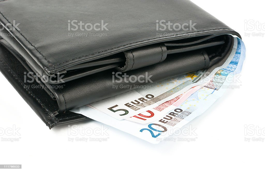Wallet stock photo