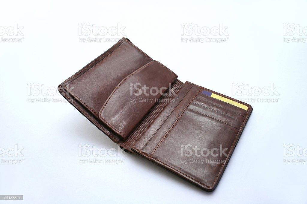 Wallet stock photo