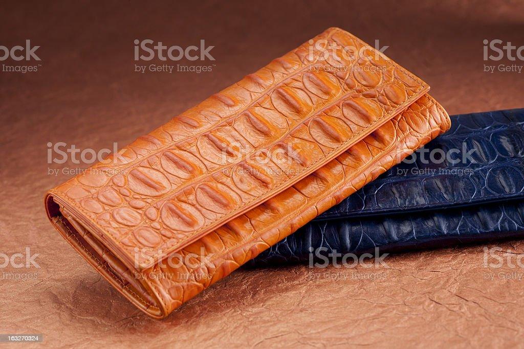 Wallets royalty-free stock photo