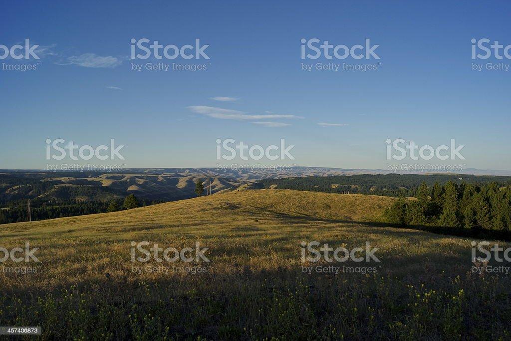 Wallowa Whitman NF View stock photo