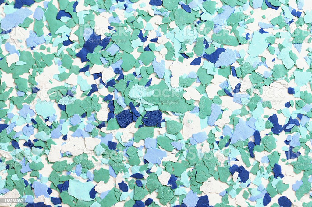 wallpaper sample in white blue and green royalty-free stock photo
