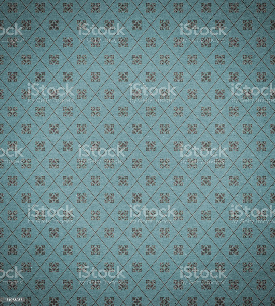 wallpaper with retro scroll pattern background texture royalty-free stock photo