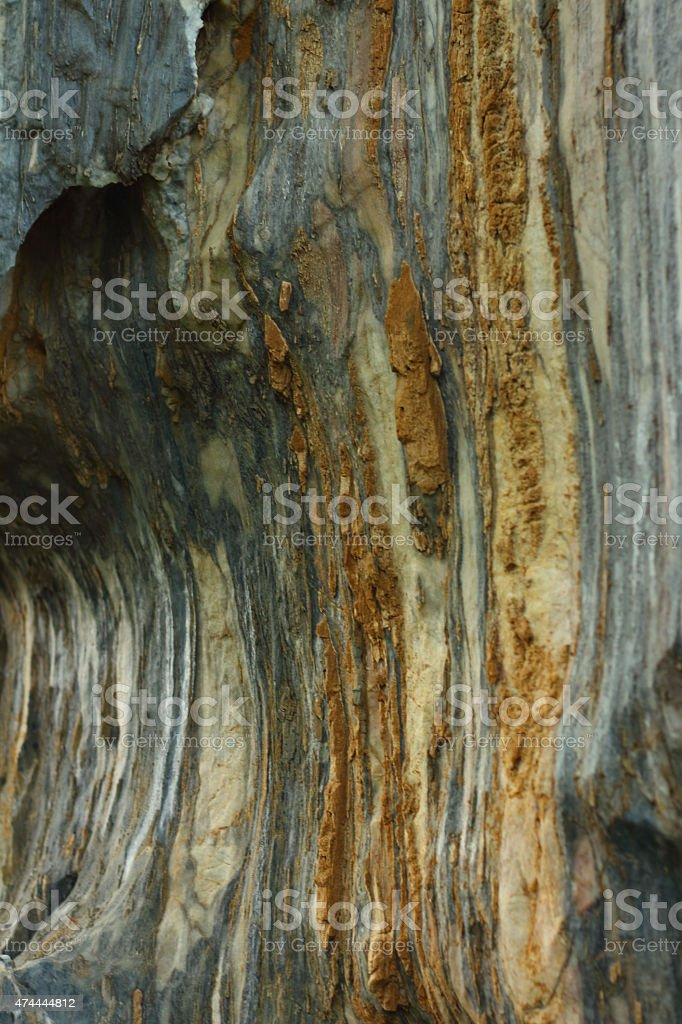 Wallpapers of cave walls stock photo