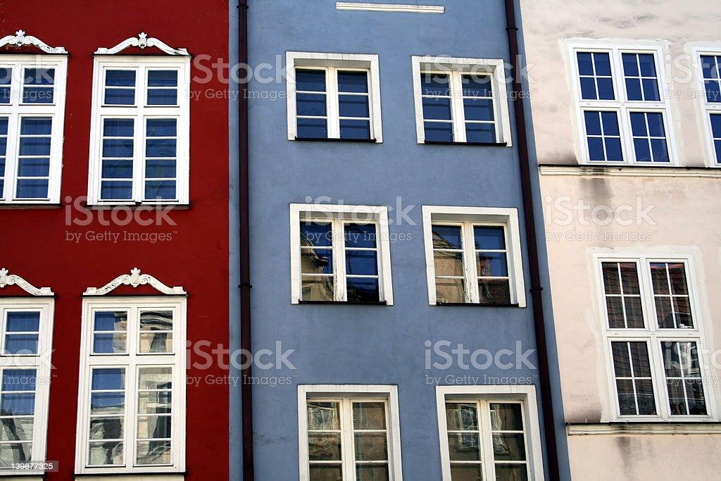 walls and windows royalty-free stock photo