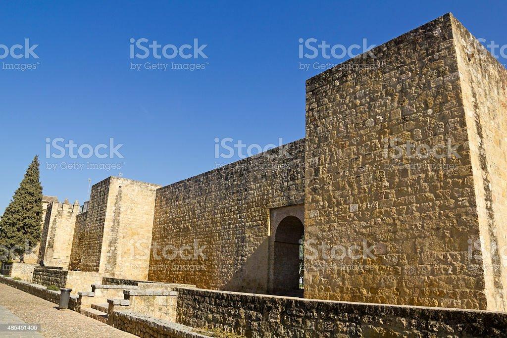 walls of Cordoba, Spain. stock photo