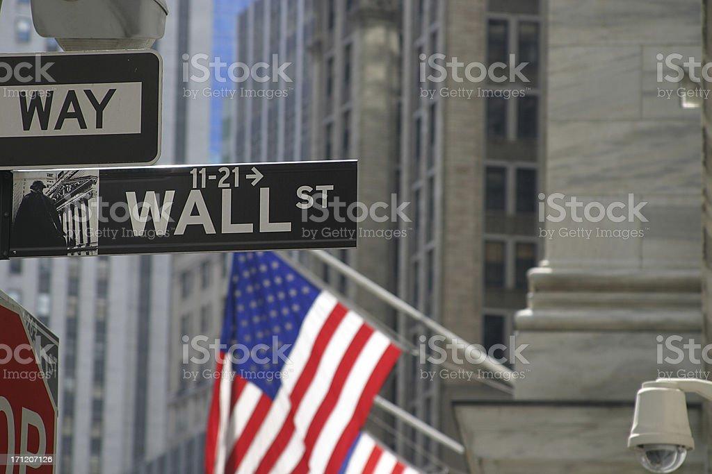 Wallstreet2 royalty-free stock photo