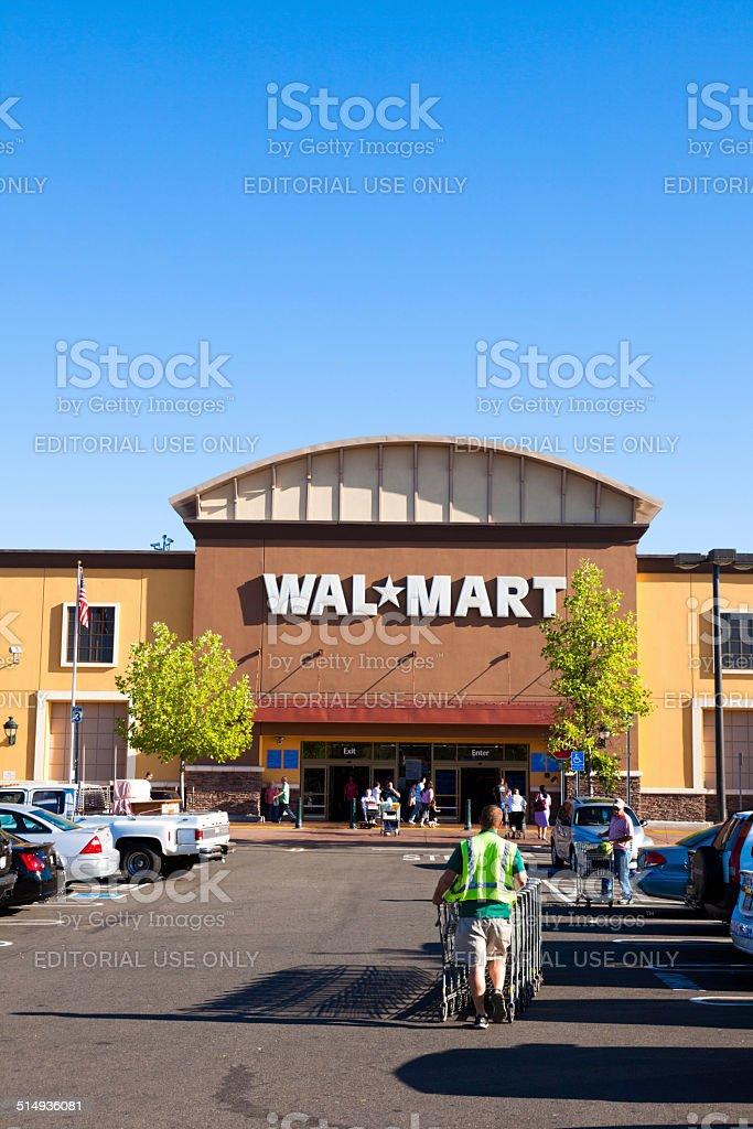Wal-Mart Store stock photo