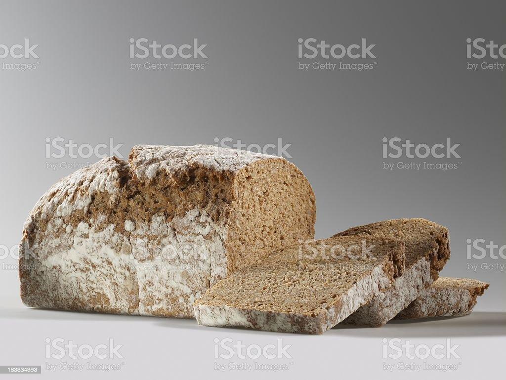 Walnut bread stock photo
