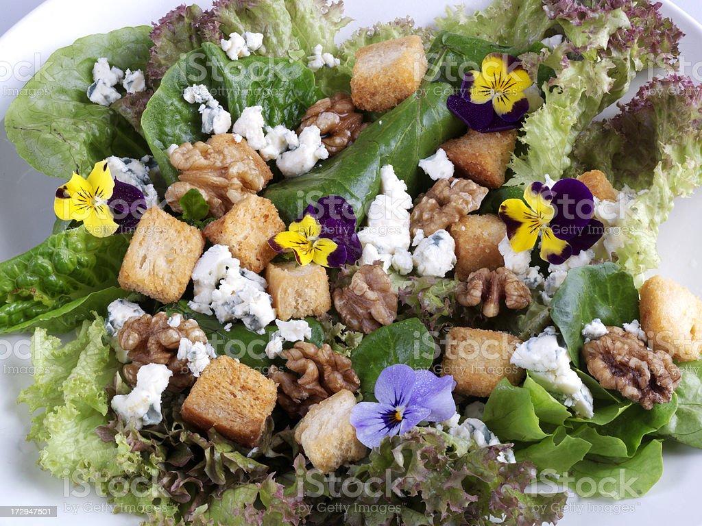 Walnut Salad stock photo