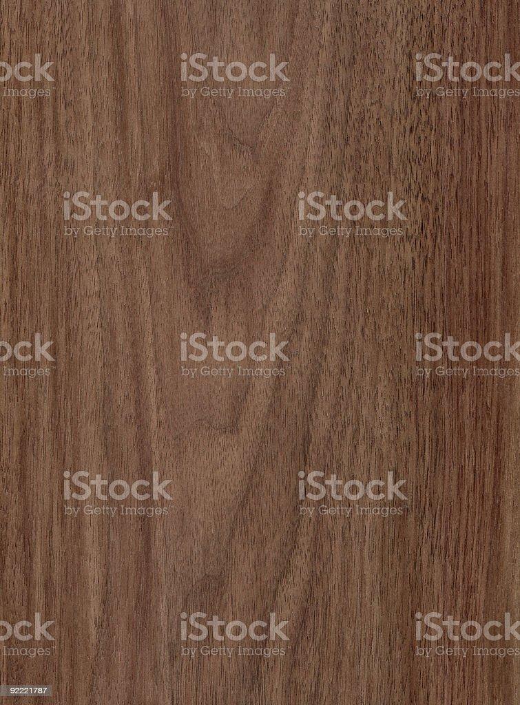 Walnut - Wood Texture Series royalty-free stock photo