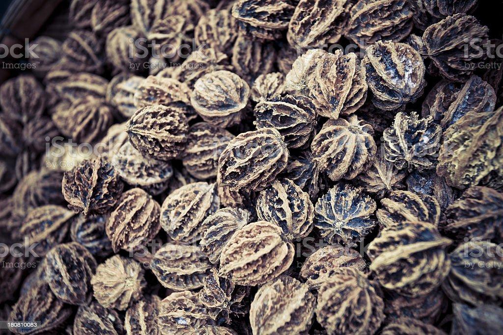 walnuts as background stock photo