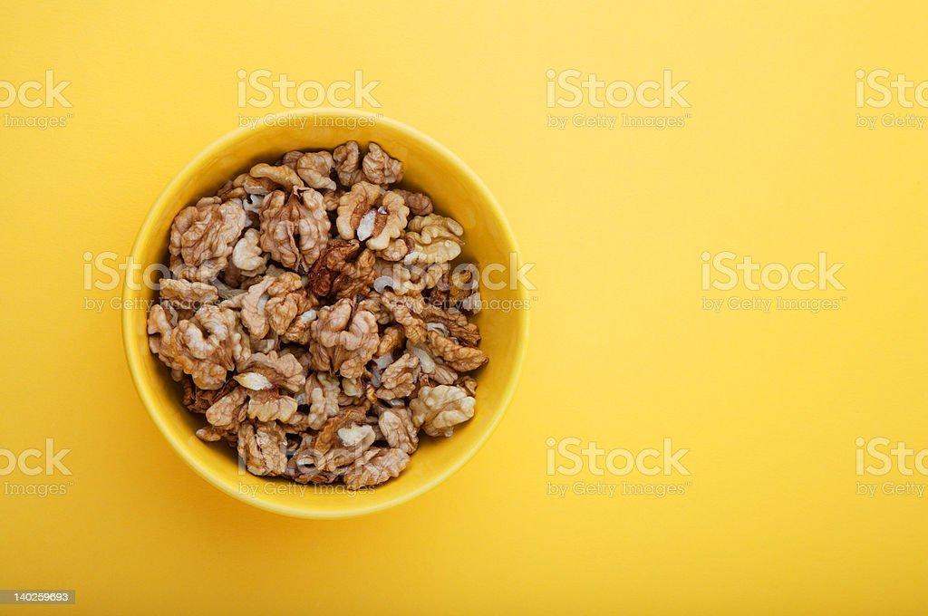 Walnuts royalty-free stock photo