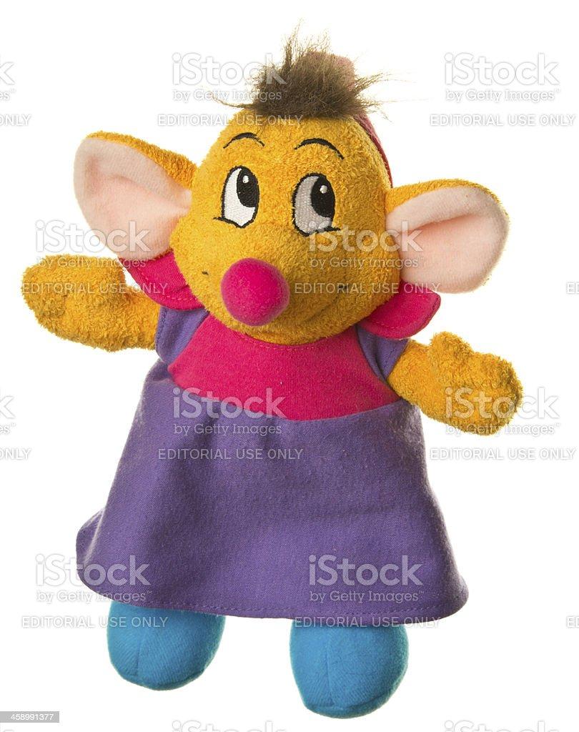 Walt Disney Cinderella Suzy Mouse Plush Stuffed Animal stock photo
