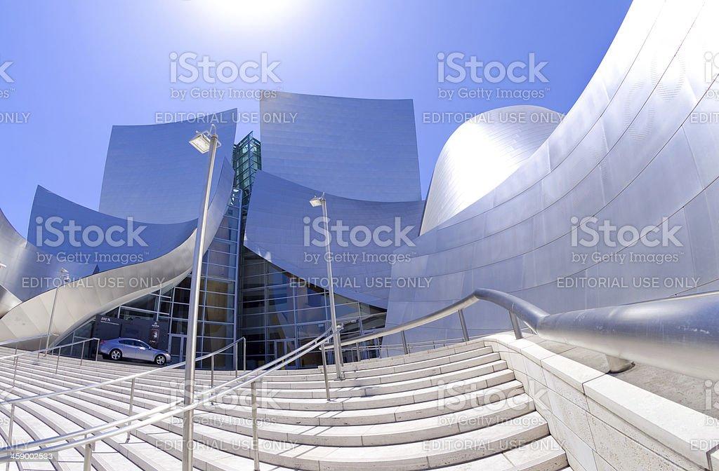 Walt Disney Concert Hall in Los Angeles, CA stock photo