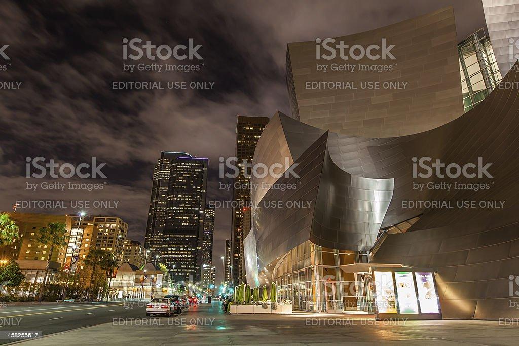 Walt Disney Concert Hall Los Angeles stock photo