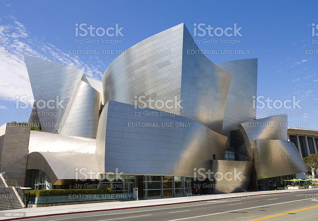 Walt Disney Concert Hall stock photo