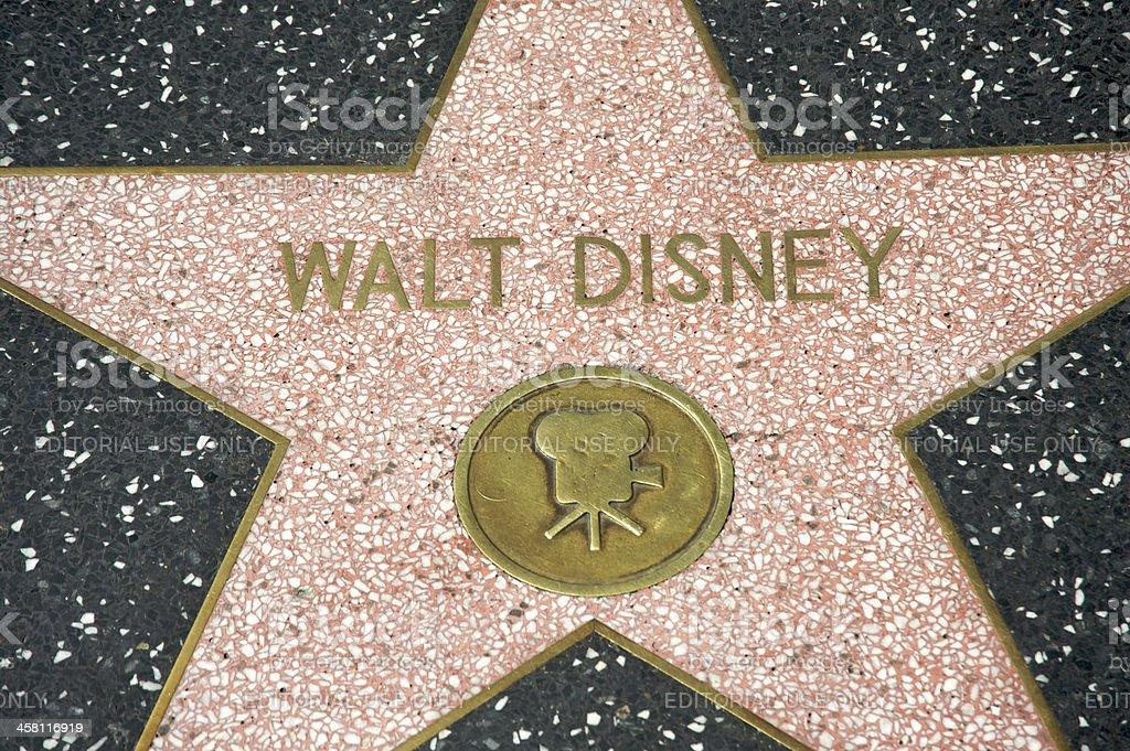 Walt Disney royalty-free stock photo