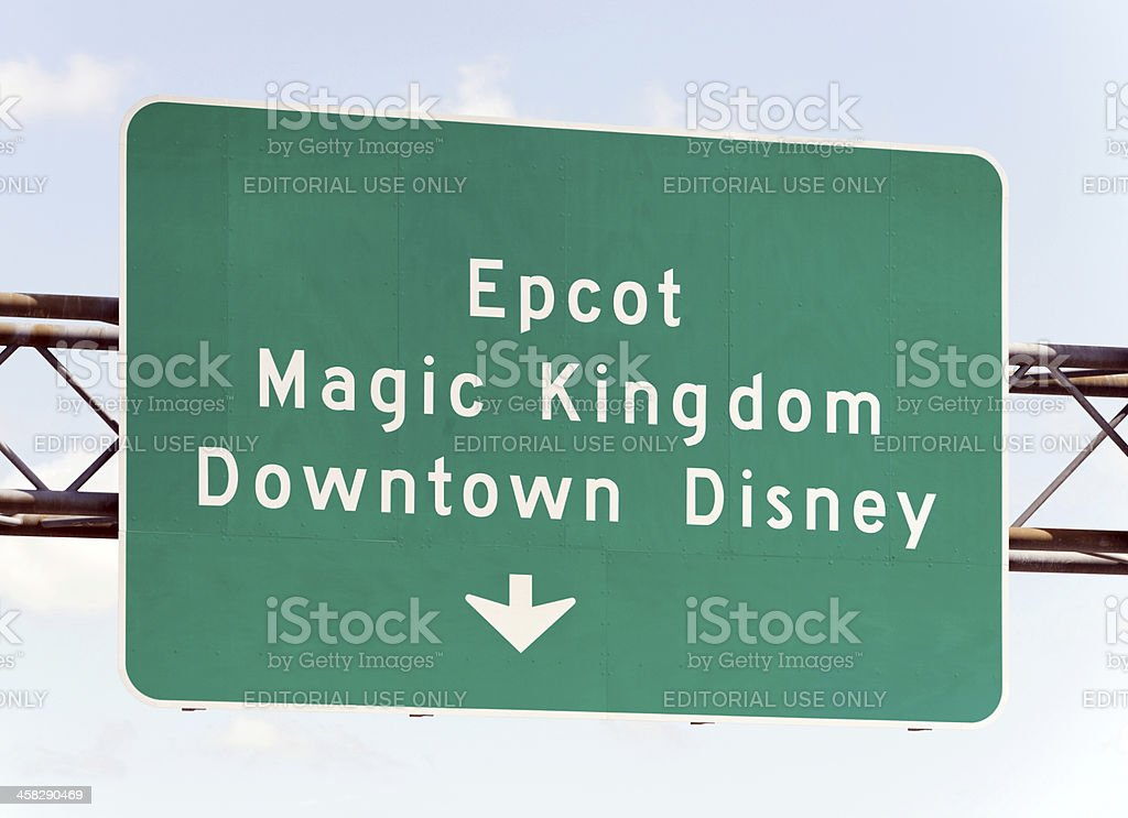 Walt Disney World Attractions stock photo