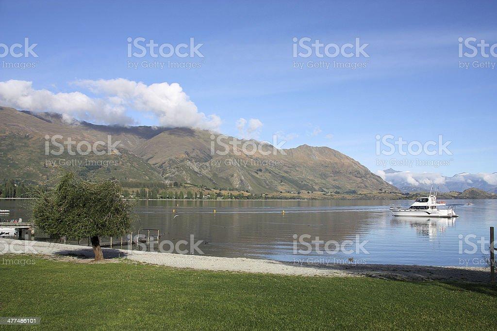 Wanaka, New Zealand royalty-free stock photo