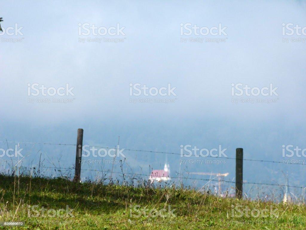 Wanderung Tegernsee zum Schliersee stock photo
