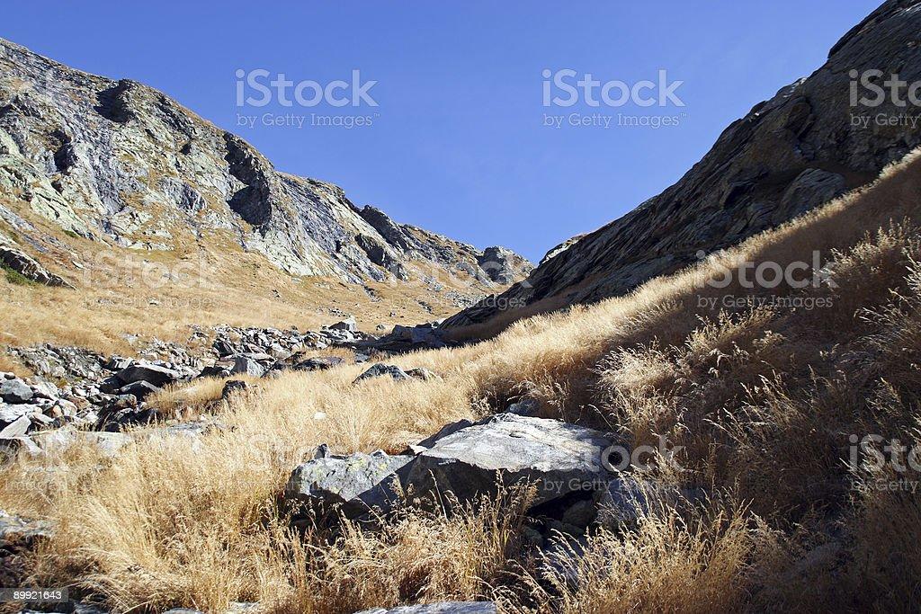Wanderweg royalty-free stock photo