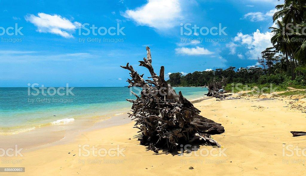 Wandoor Beach, Port Blair, Andamans stock photo
