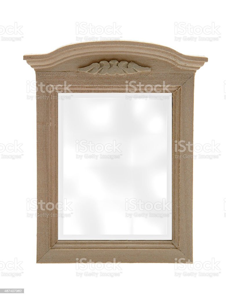 Wandspiegel stock photo