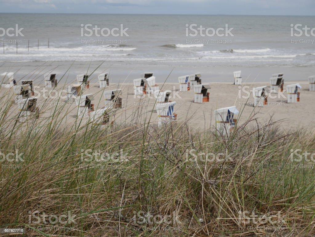 wangerooge stock photo