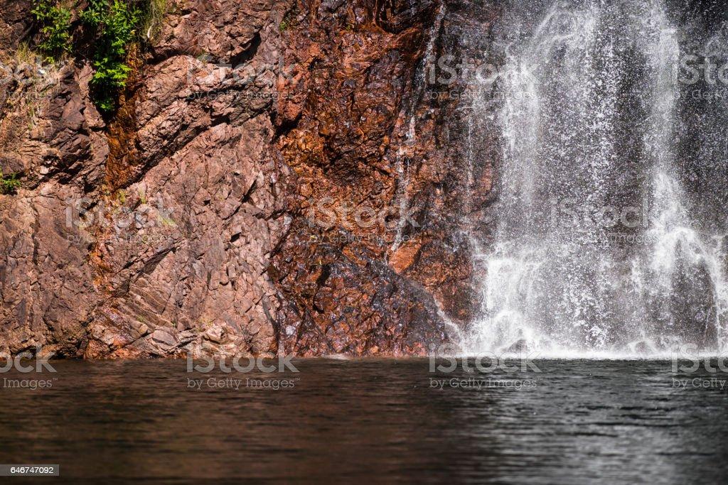 Wangi Falls stock photo