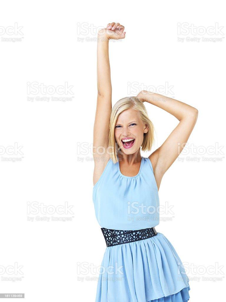 I wanna dance with somebody royalty-free stock photo