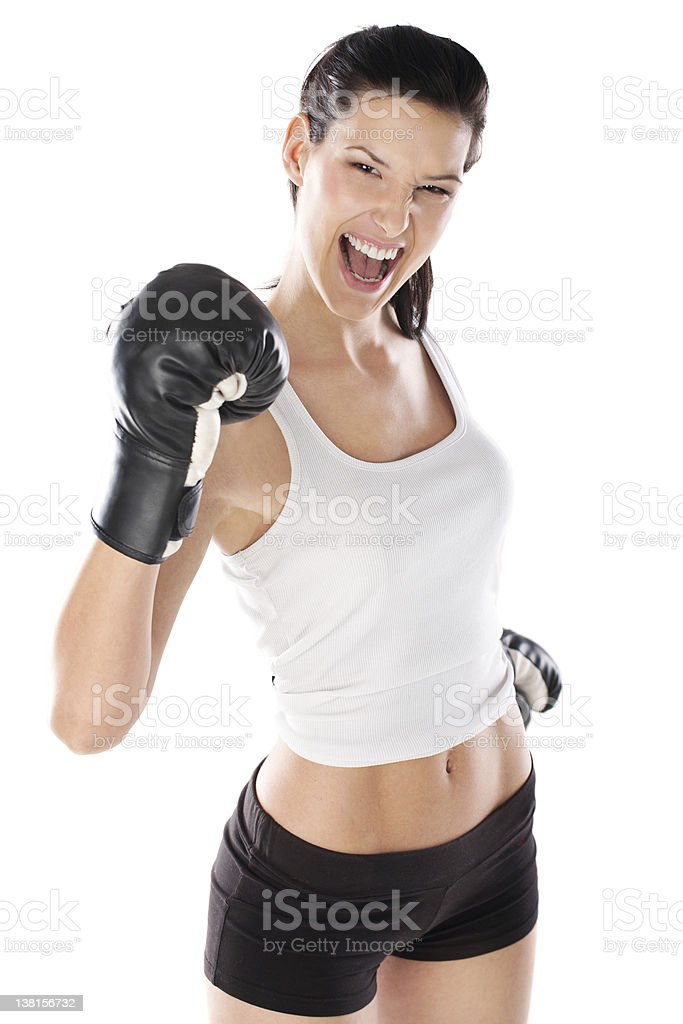 Wanna fight? royalty-free stock photo