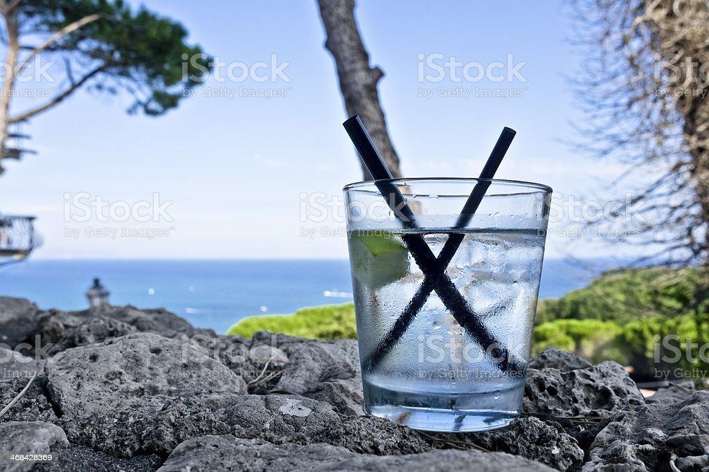 Wanna Summer Drink stock photo