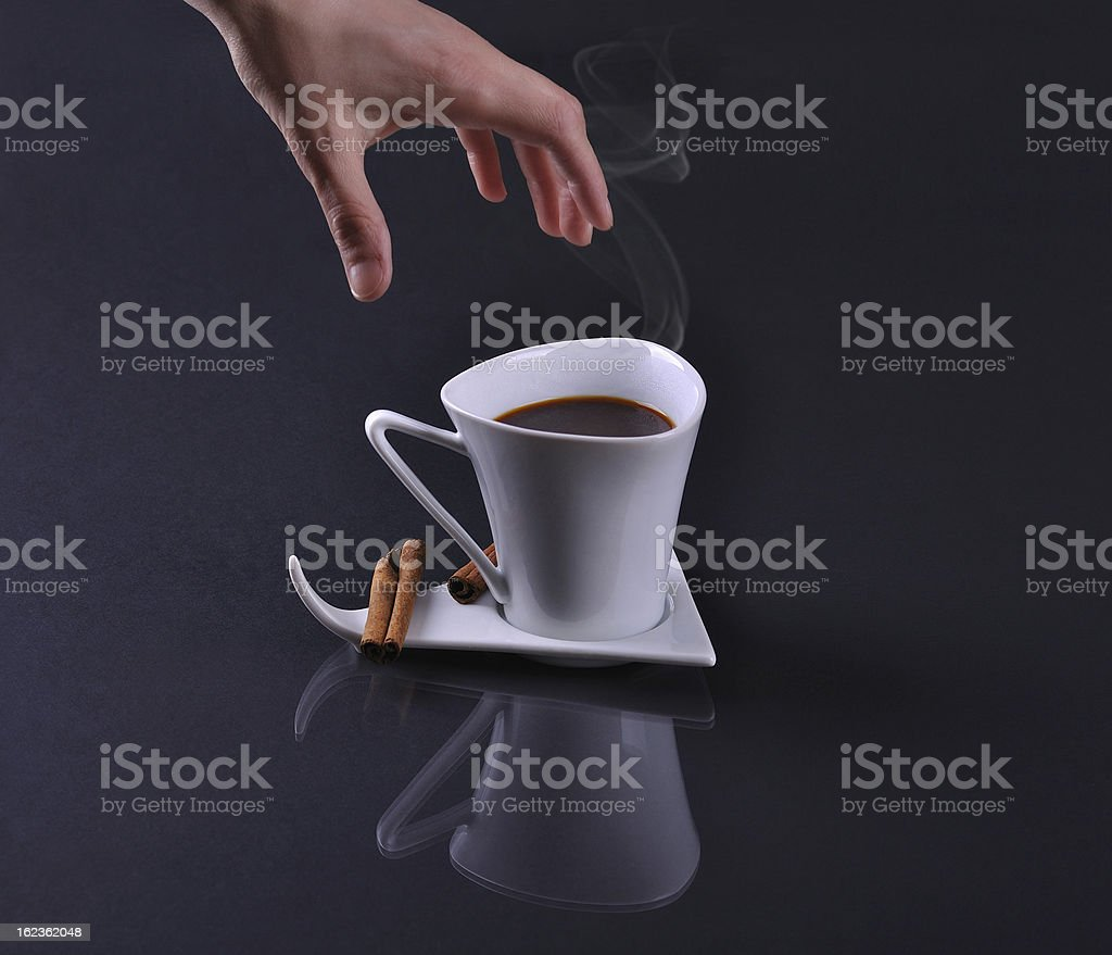 I want coffee royalty-free stock photo