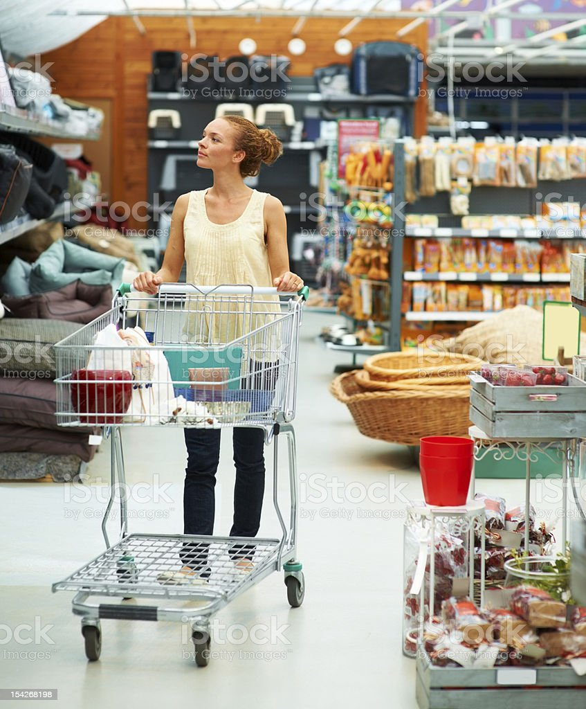 I want everything! stock photo