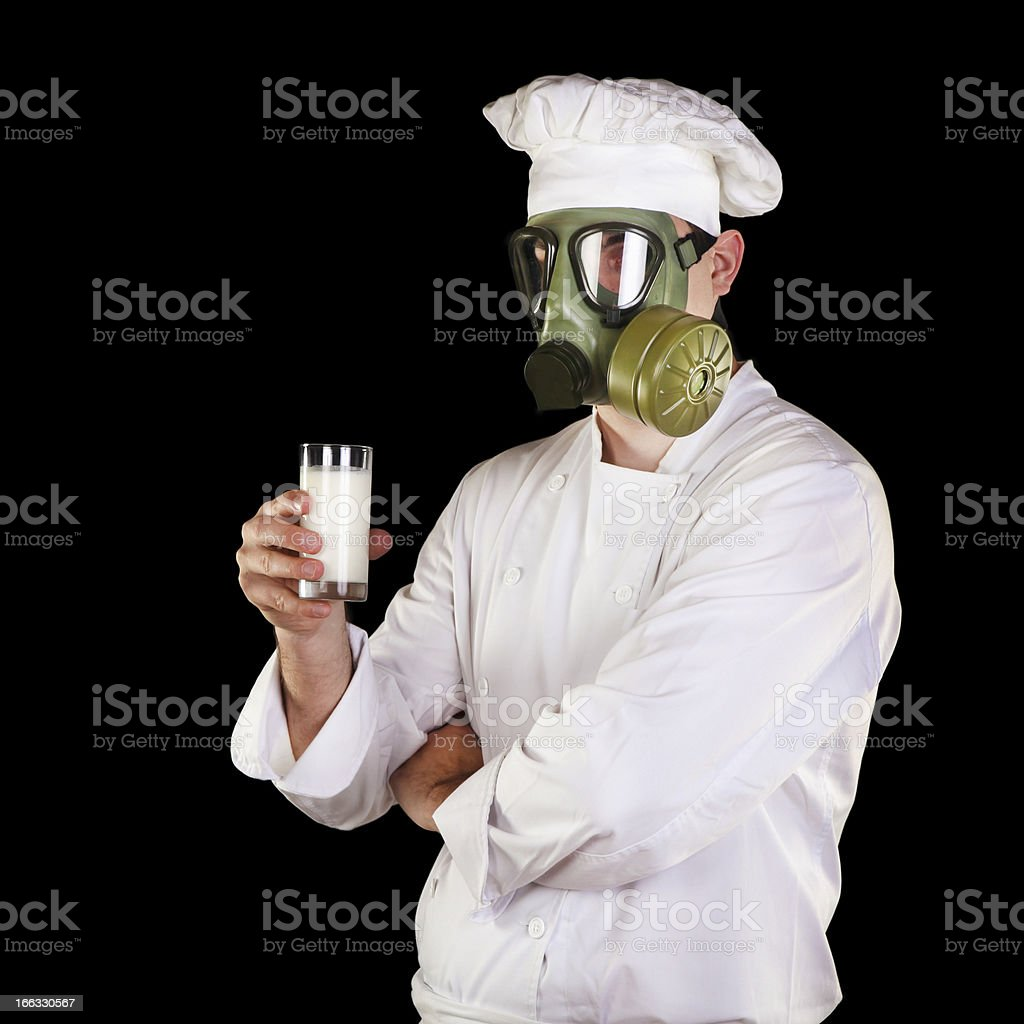 Want milk? stock photo