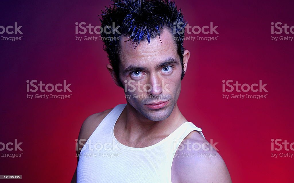 want some of this? - young man stock photo