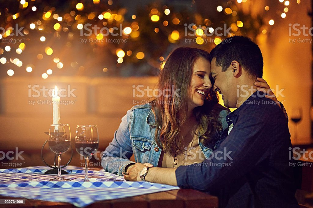 I want to be this close to you forever stock photo