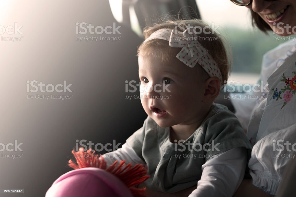 I want to go play outside! stock photo