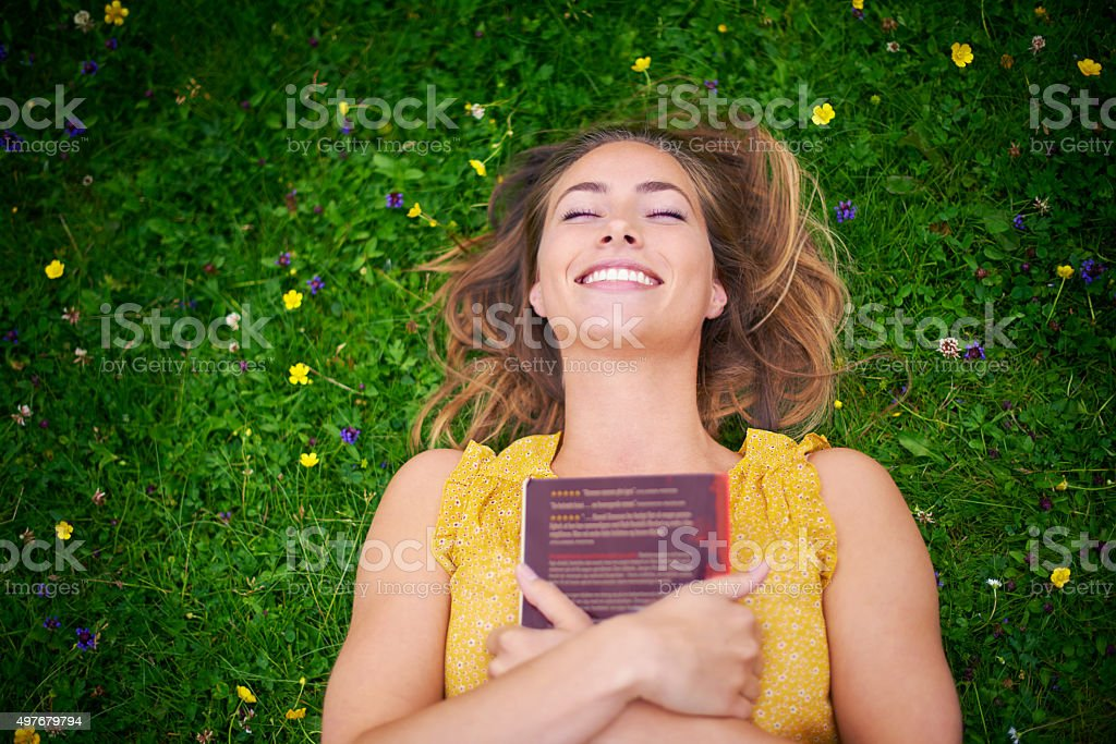 I want to live happily ever after too! stock photo
