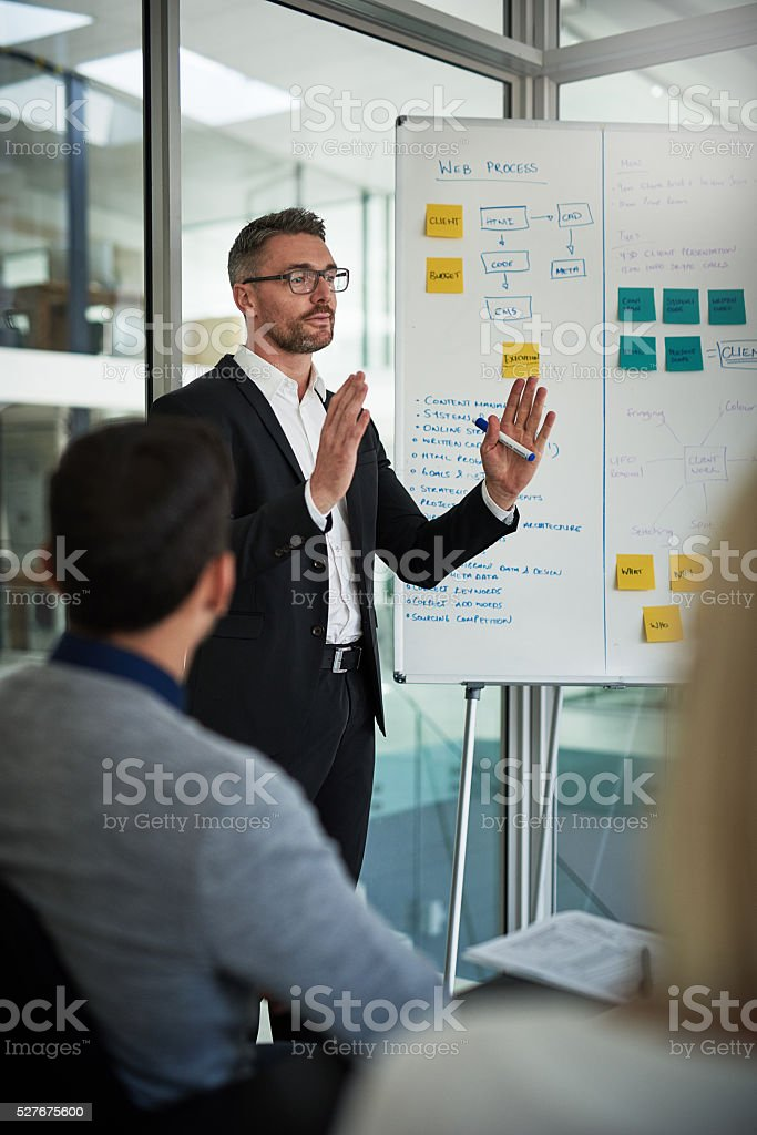 I want us to expand stock photo