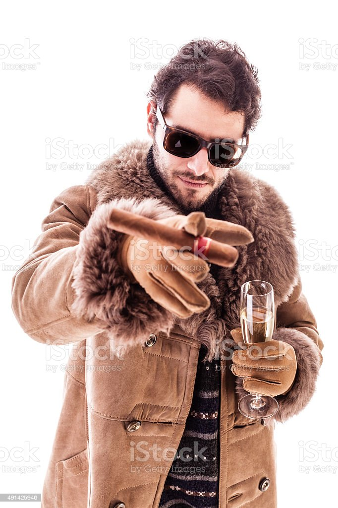 I want you in the party stock photo