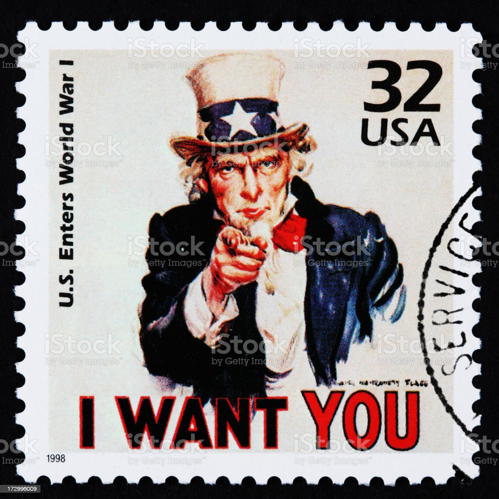 I Want You stock photo