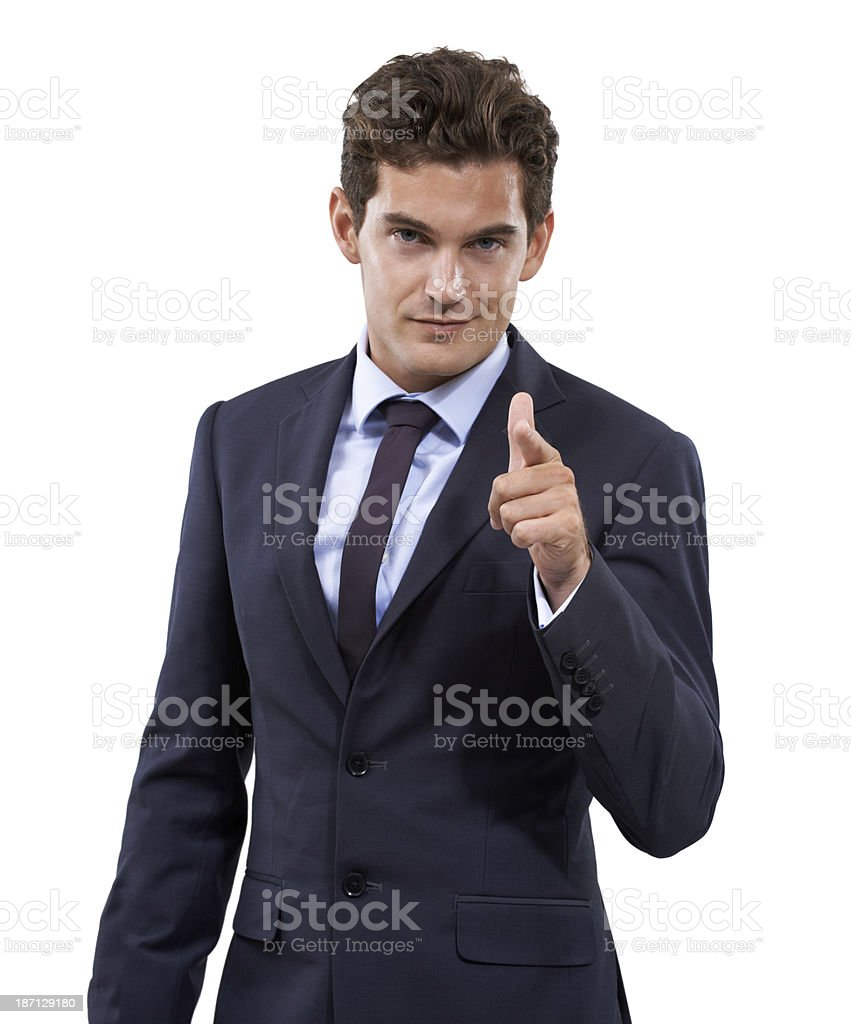 I want you! royalty-free stock photo