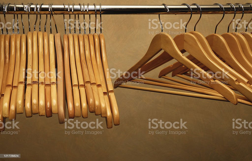 Wanted: Fashionable Clothes stock photo