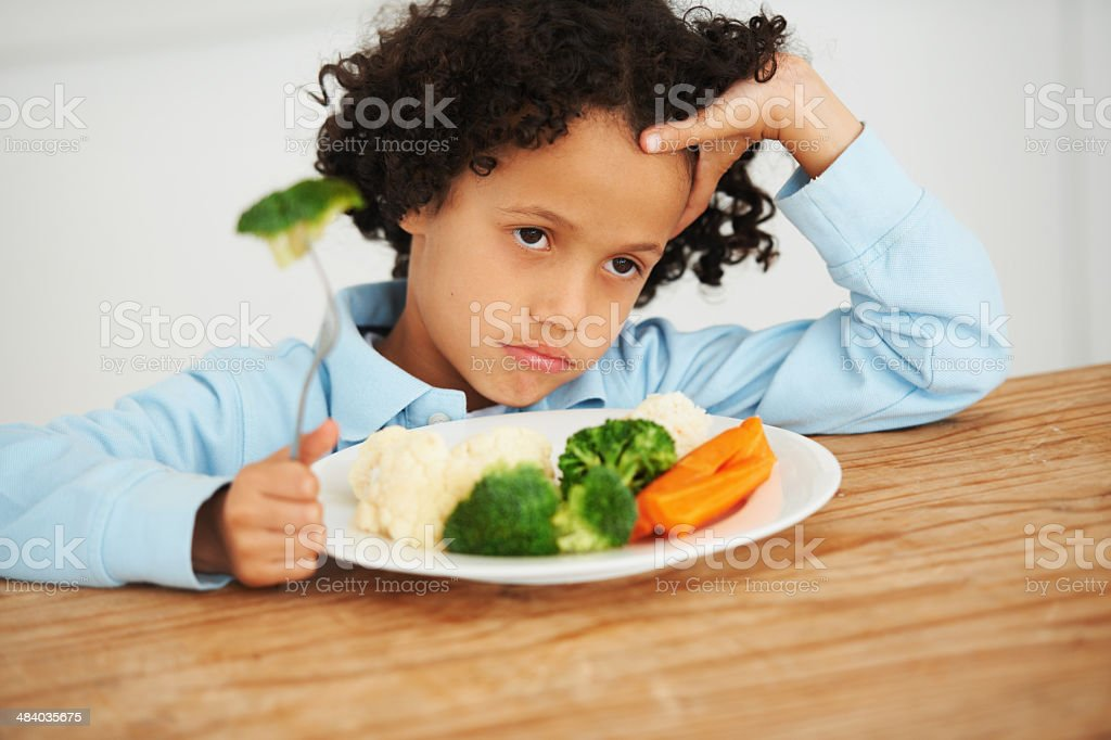 I wanted pizza! stock photo
