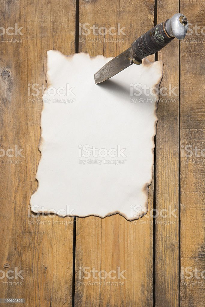 Wanted post royalty-free stock photo