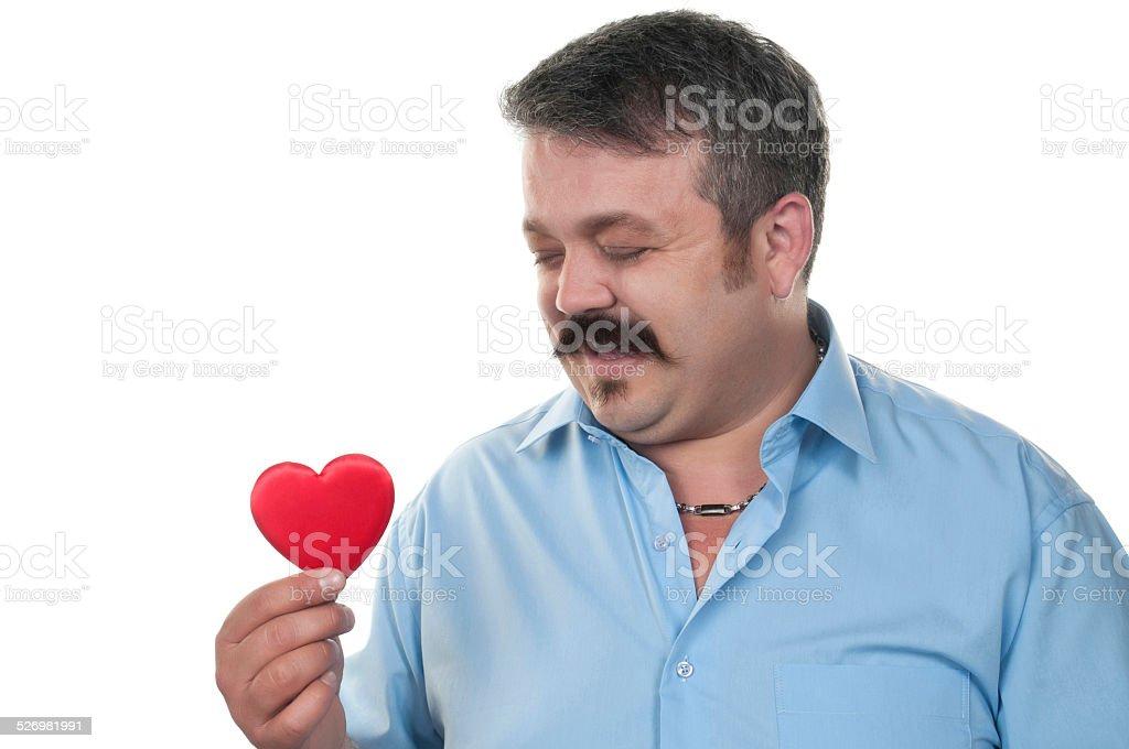 Wanting love stock photo