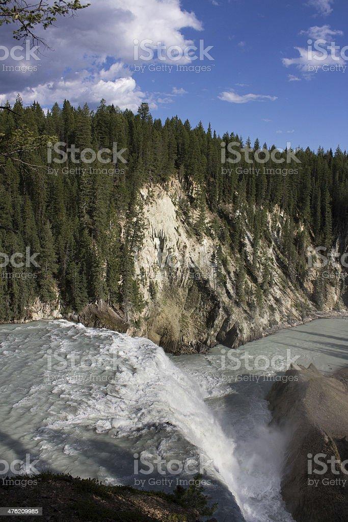 Wapta Falls stock photo