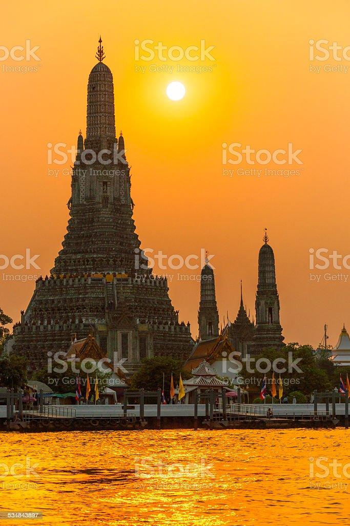 Krieg Arun, Bangkok, Thailandia. – Foto